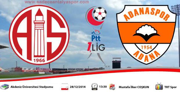 Antalyaspor – Adanaspor Maç Öncesi