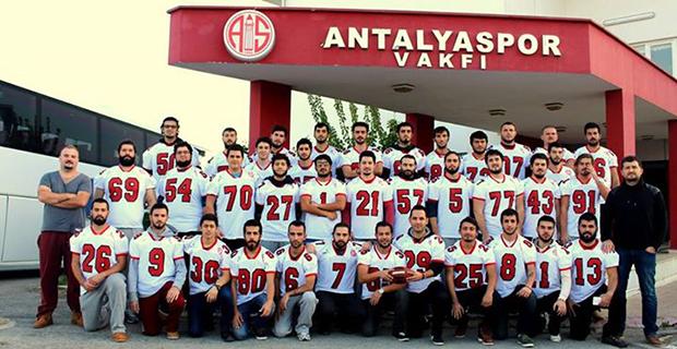 Antalyaspor Amerikan Futbolu Takımı 3.Maçına Çıkıyor