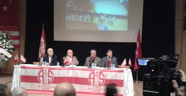 Antalyaspor Olağanüstü Genel Kurulu Yapıldı