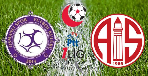Osmanlıspor – Antalyaspor Maçının Tarihi Belli Oldu