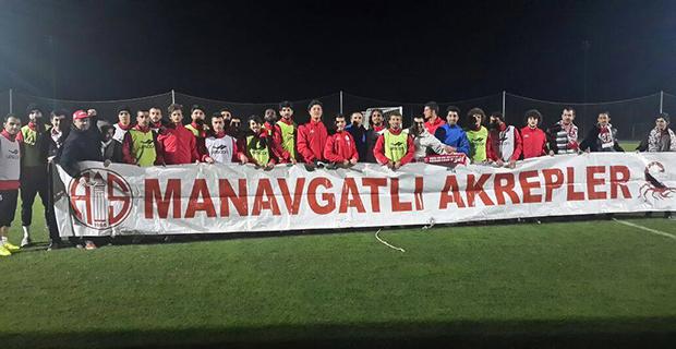 Antalyaspor'a Manavgatlı Akreplerden Destek