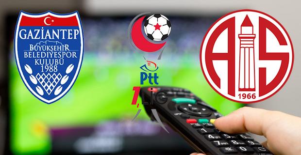Gaziantep BŞB – Antalyaspor Maçının Kanalı Belli Oldu