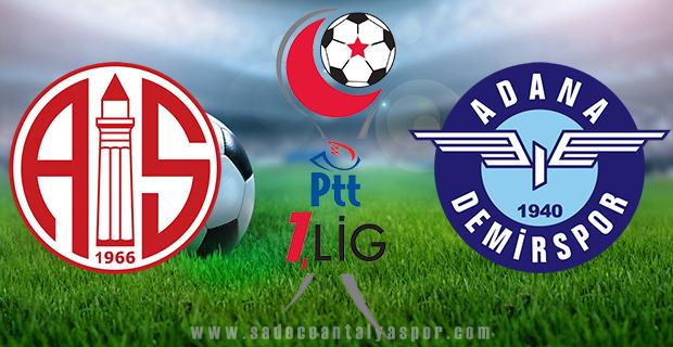 Antalyaspor – Adana Demirspor (Maç Kadroları)