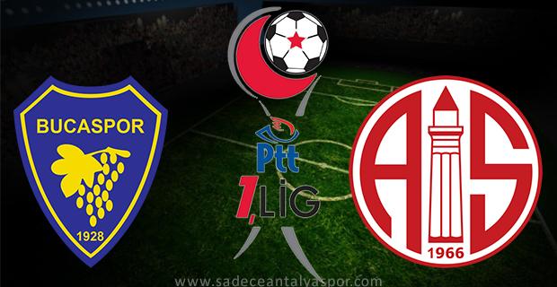 Bucaspor – Antalyaspor (Maç Kadroları)