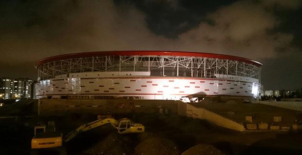 Yeni Stadyumda Sona Doğru