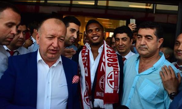Samuel Eto'o Antalya'da !