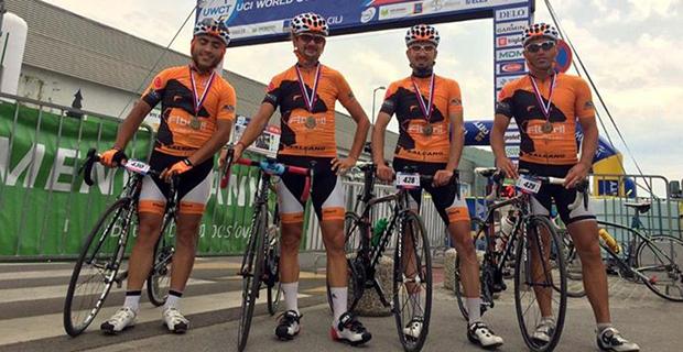 Bisiklet Takımı Dünya Şampiyonası'na Gidiyor