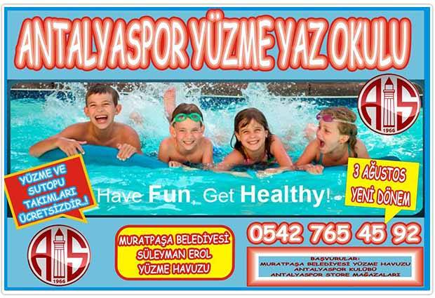 Antalyaspor Yüzücü Yetiştirecek
