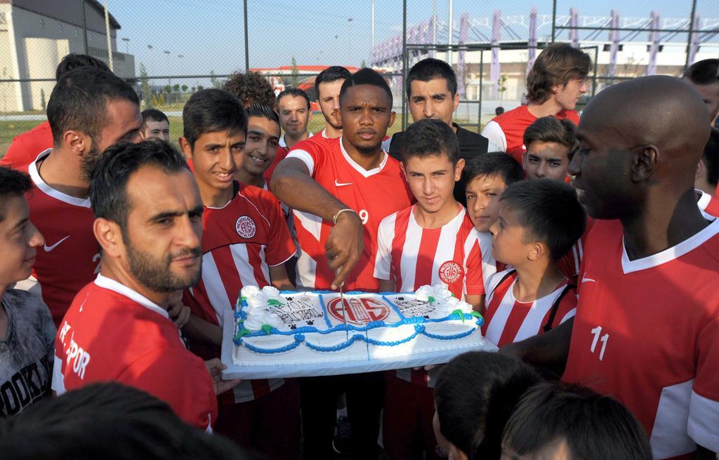 Afyon Antalyaspor Futbol Okulu'ndan Ziyaret