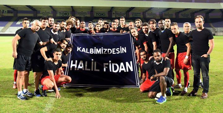Antalyaspor Halil Fidan'ı Unutmadı