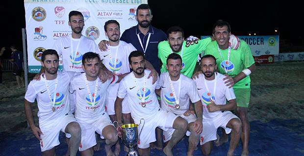 Antalyaspor, Alanya Etabında Şampiyon Oldu