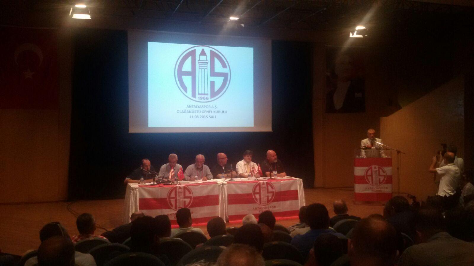 Antalyaspor A.Ş'nin Başkanı Belli Oldu