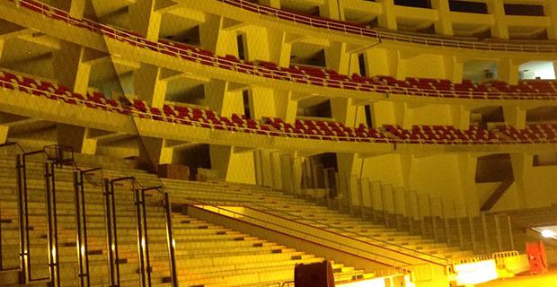Stadyumda Koltuk Montajı Son Gaz