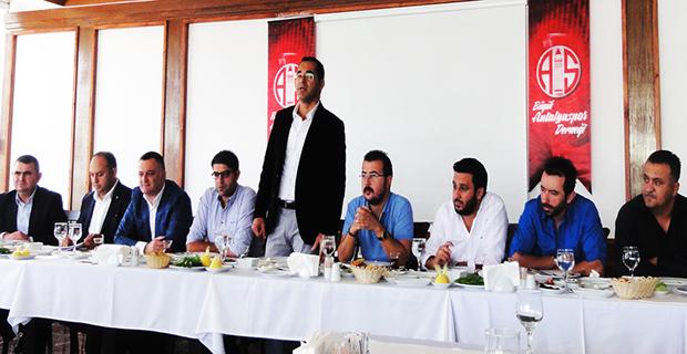Büyük Antalyaspor Derneği Faaliyete Geçti