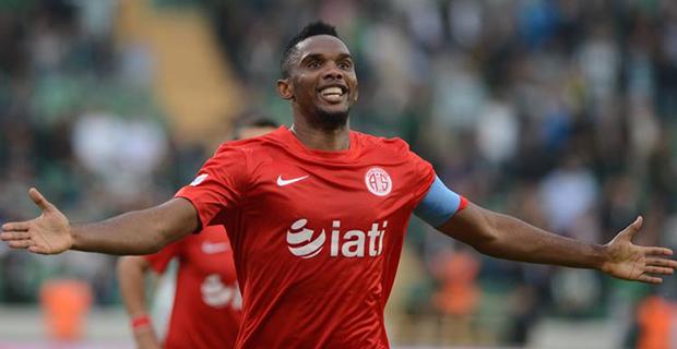 Antalyaspor'u Eto'o Uçuruyor