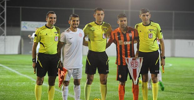 Antalyaspor ile Shaktar Donetsk Yenişemedi