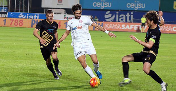 Antalyaspor Beraberliğe Abone: 1-1