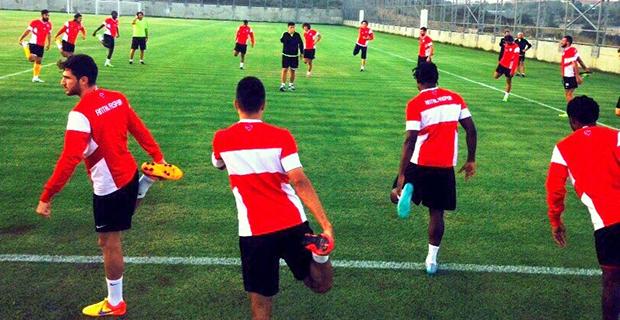 Antalyaspor'da Gaziantepspor Hazırlıkları