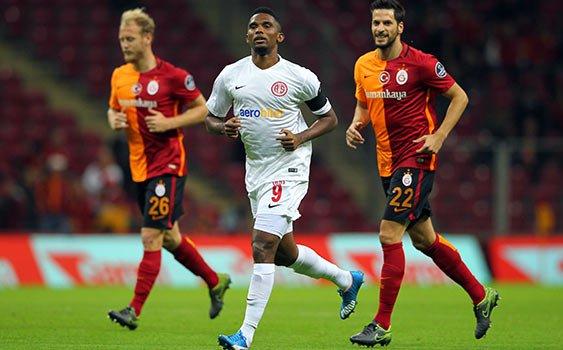 Antalyaspor'da Gözler Eto'o'da