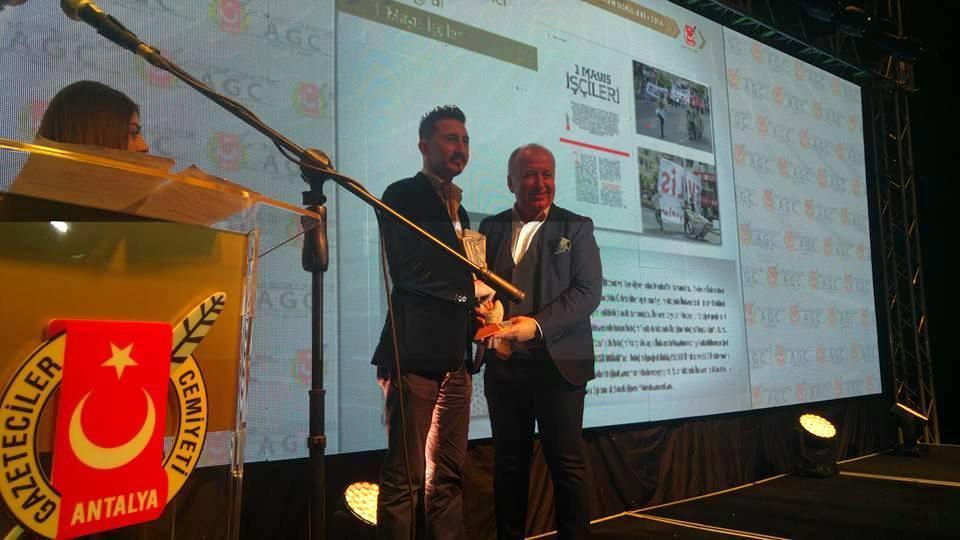 Gencer'den Basın Ödülü