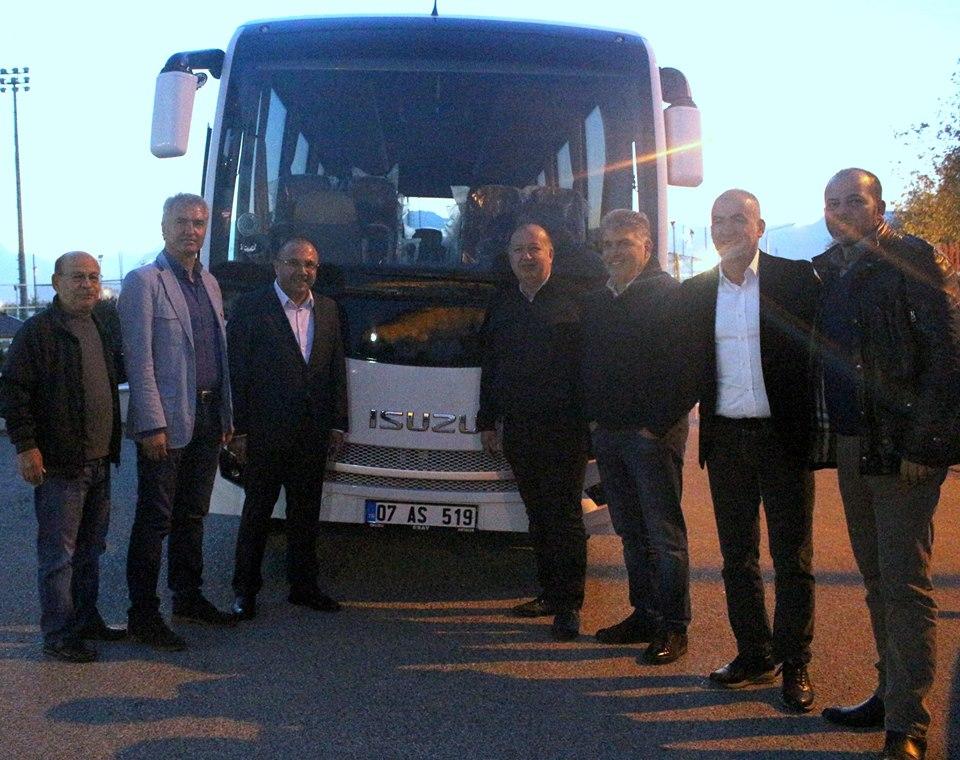 Antalyaspor'a Yeni Sponsor ve Otobüs