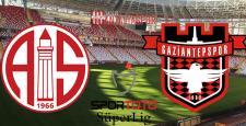 Antalyaspor – Gaziantepspor (Kadrolar)