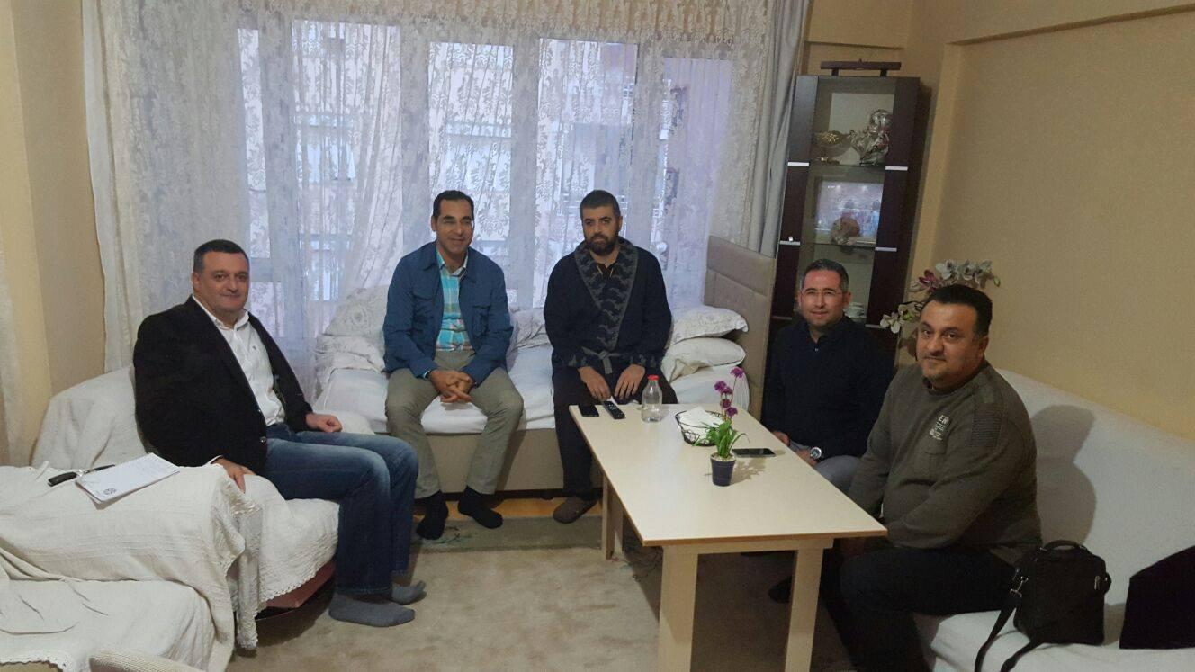Büyük Antalyaspor Derneği'nden Orhan Ünal'a Ziyaret