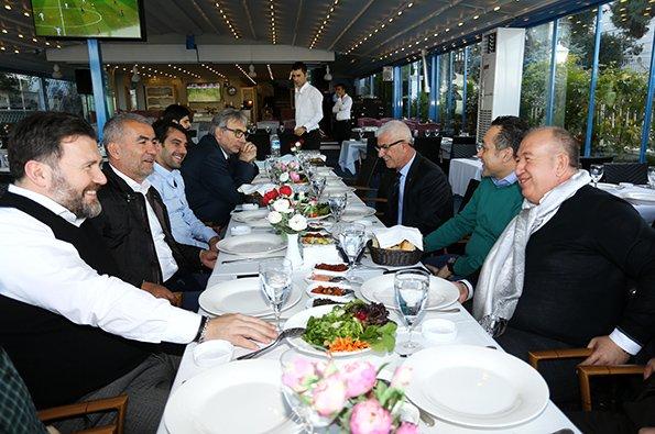 Trabzonspor'dan Antalyaspor'a Dostluk Yemeği