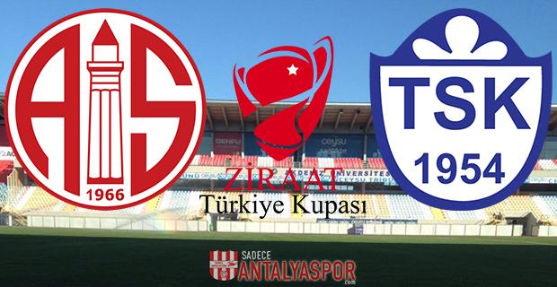 Antalyaspor – Tuzlaspor (Kadrolar)