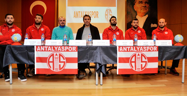 Antalyaspor, Doğa Koleji'ne Konuk Oldu