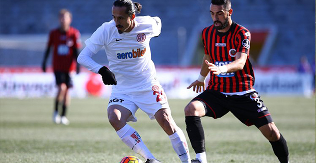 Antalyaspor'un Deplasmanda Galibiyet Hasreti
