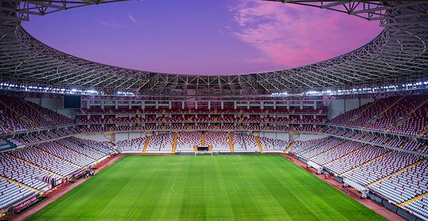Antalya Arena'da Zemin Ağır