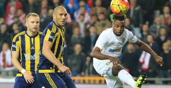 Antalyaspor Lideri Devirdi: 4-2