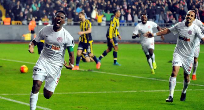 Antalyaspor, Fenerbahçe'nin Serisini Bozdu