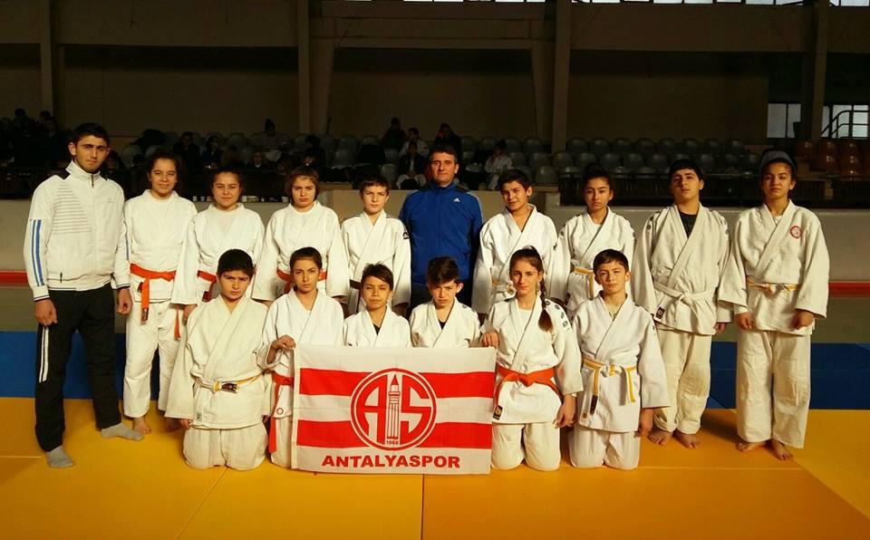 Antalyaspor Judo Takımından Dereceler