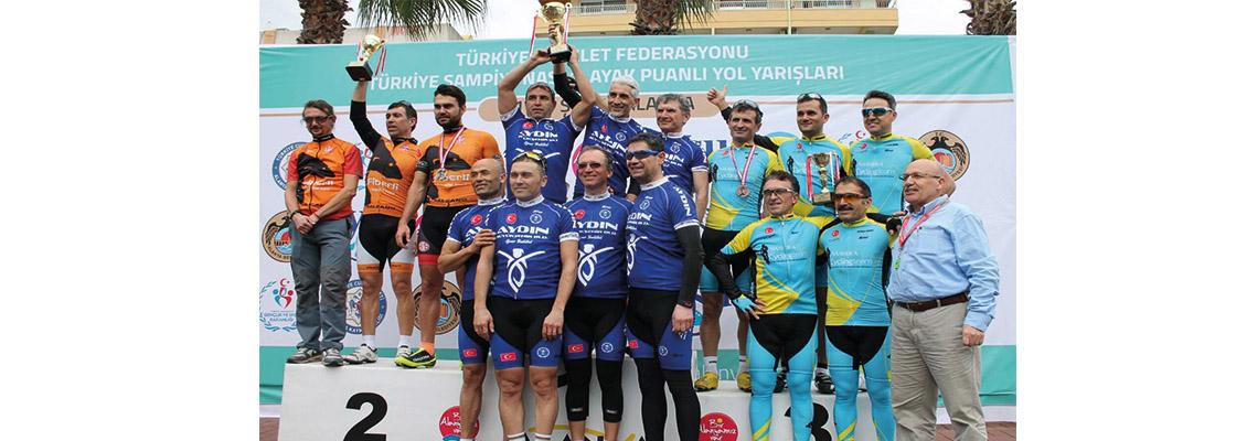 Antalyaspor'dan Bisiklette Başarı