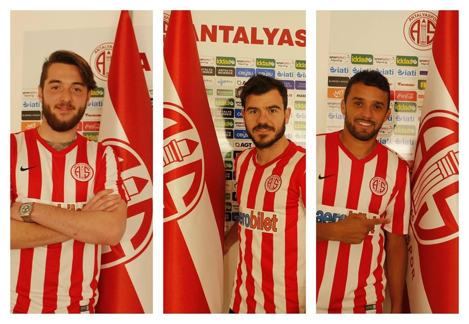 Antalyaspor'da Son Gün Transferleri