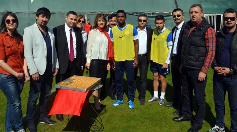 Makina Mühendislerinden Antalyaspor'a Ziyaret
