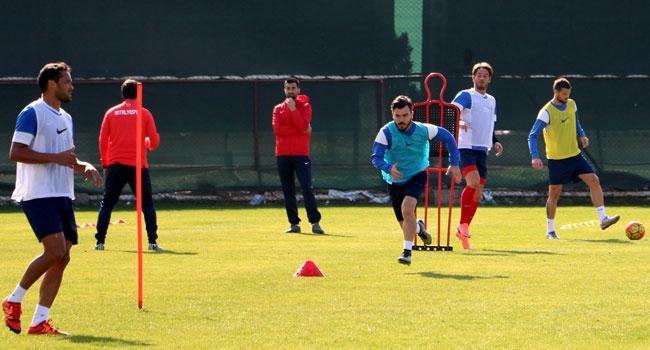 Eskişehirspor Maçı Hazırlıkları Devam Ediyor