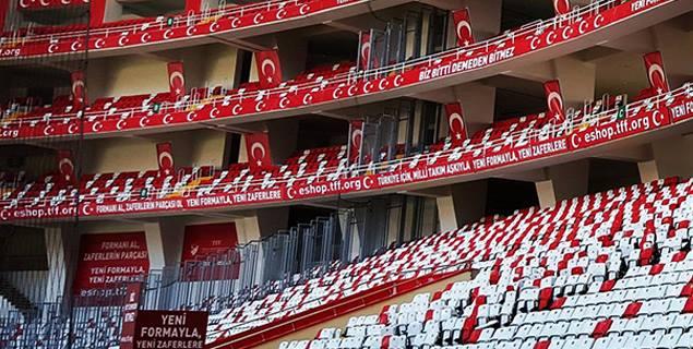 Antalya Arena'da İlk Milli Maç