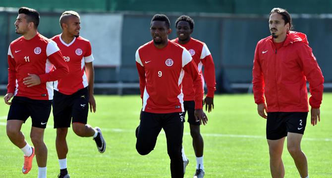 Antalyaspor Galibiyet İçin Çalışıyor