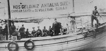 Atatürk'ün Antalya'ya Gelişinin 86. Yılı