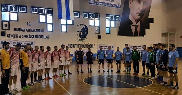 Antalyaspor Puanı Son Saniyede Aldı : 27-27