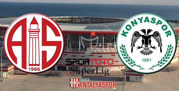Antalyaspor – Torku Konyaspor (Kadrolar)