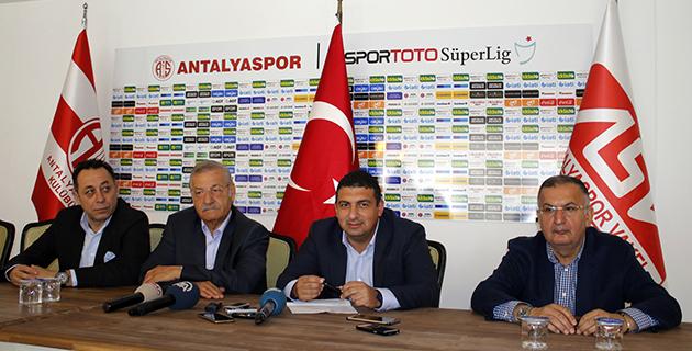 Öztürk'ten Antalyaspor Açıklaması
