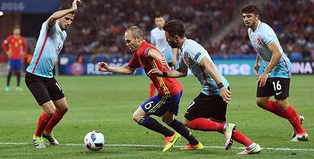 İspanya 3 – 0 Türkiye
