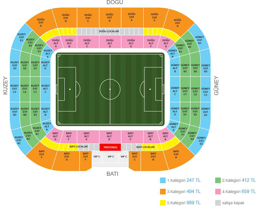 Etoo Chartiy Match Bilet Fiyatları