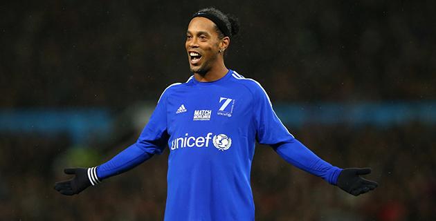 Gözler Yeniden Ronaldinho'ya Çevrildi