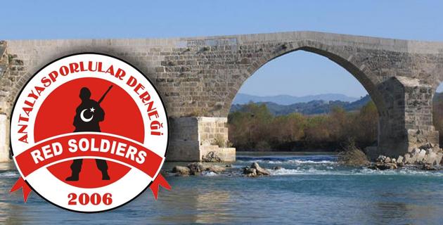 Red Soldiers Grubu Köprüçay'a Gidiyor