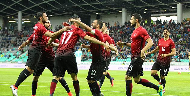 Slovenya 0 – 1 Türkiye